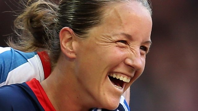 England captain Casey Stoney