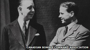 Roy Chadwick with Guy Gibson