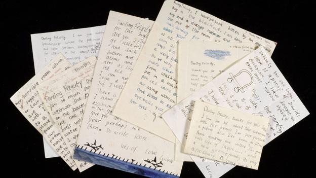 Lucian Freud letters