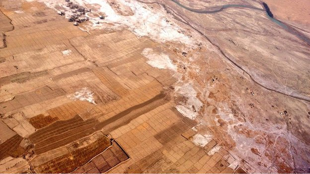 Helmand from the air