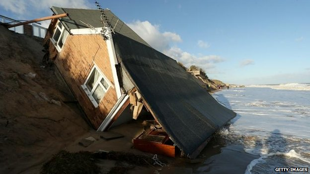 Damage in Hemsby