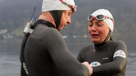 Sport Relief twitter feed image of Davina McCall