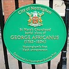 Memorial Plaque to George Africanus