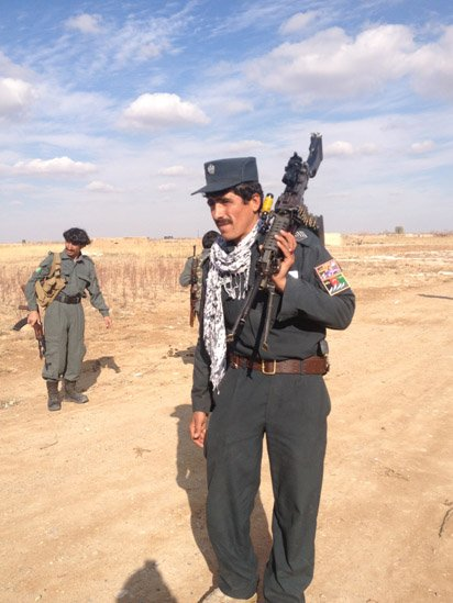 police in helmand