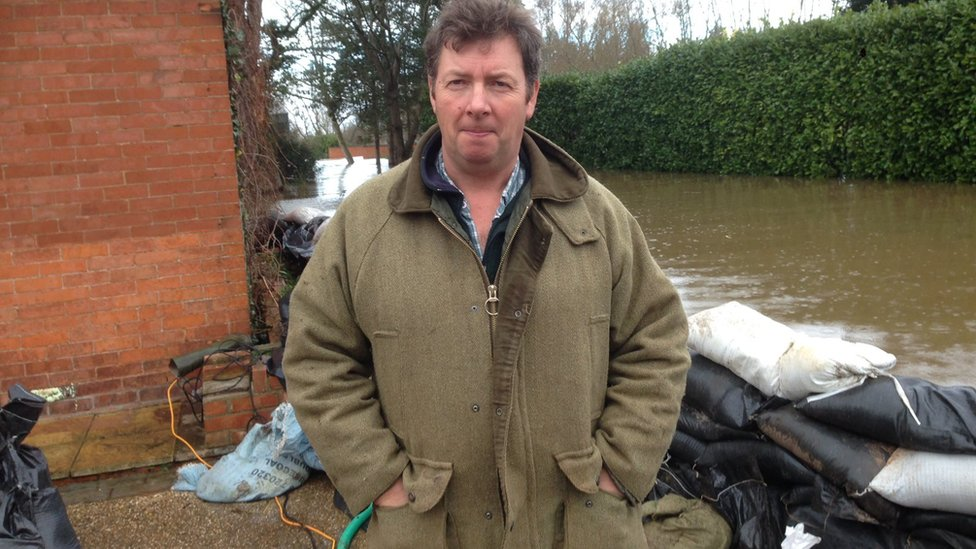 Ian Webber, farmer