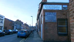 The Gurdwara in Leicester where the attack came