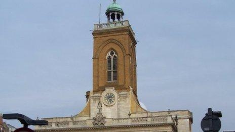 All Saints' Church in Northampton