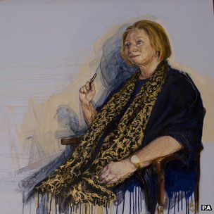Hilary Mantel portrait