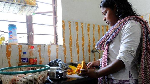 Maid in Calcutta