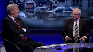 Jeremy Paxman and Chris Smith on Newsnight