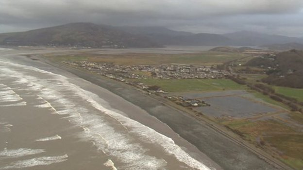 Fairbourne in Gwynedd is one of 50 communities at risk