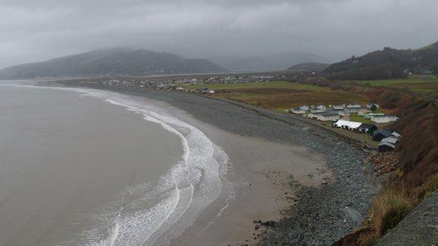Fairbourne in Gwynedd