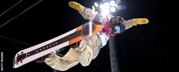 Sochi snowboarding