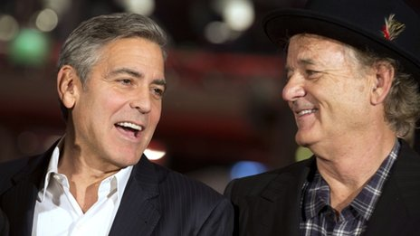 George Clooney and Bill Murray