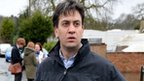 Labour leader Ed Miliband at Purley on Thames