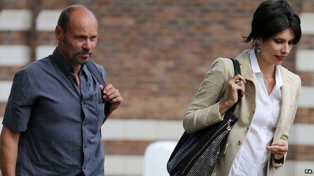 Simon Medhurst and Natalie Hynde