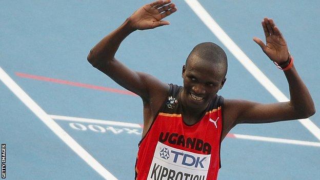 Olympic and World marathon champion Stephen Kiprotich