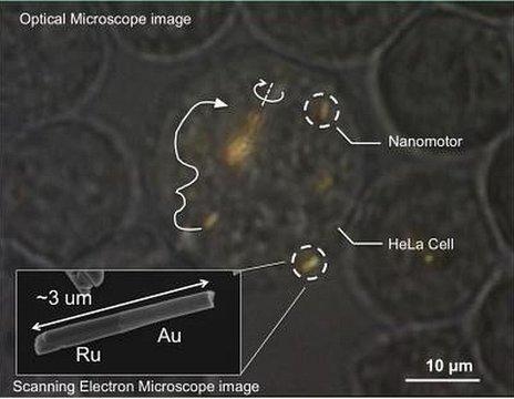 Nanomotors