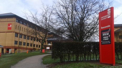 Staffordshire University Stafford campus