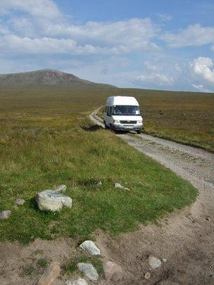 Cape Wrath bus service