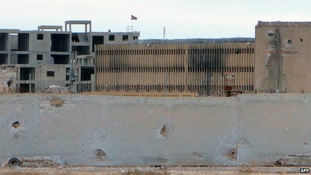 Prison in central Aleppo (6 February 2014)