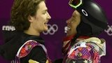 Iouri Podladtchikov and Shaun White
