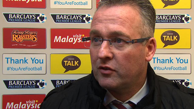 Aston Villa dominated second half - Lambert