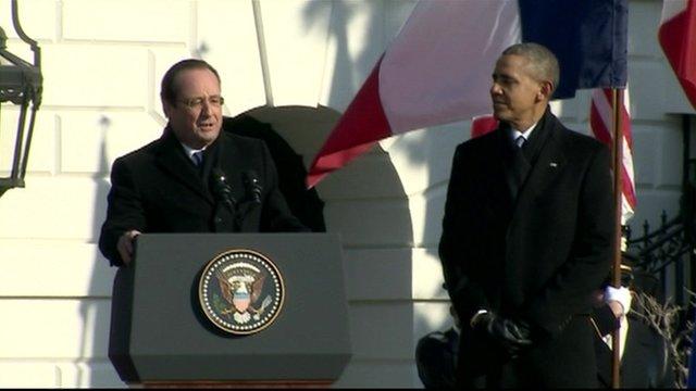 President Francois Hollande and President Obama