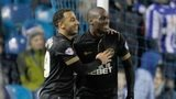 Nicky Maynard and Marc-Antoine Fortune