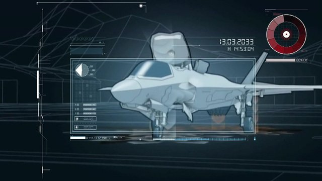 Graphic of F-35B