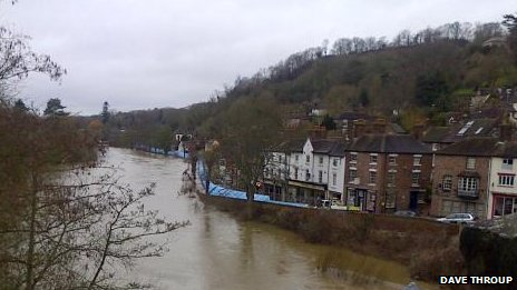 River Severn at Ironbridge