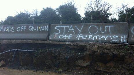 Lisburn graffiti