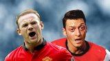 Wayne Rooney & Mesut Ozil
