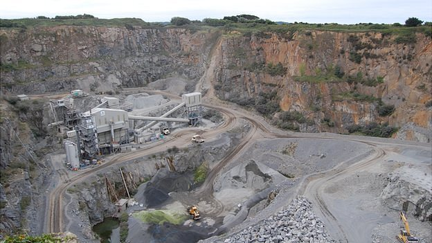 Les Vardes Quarry