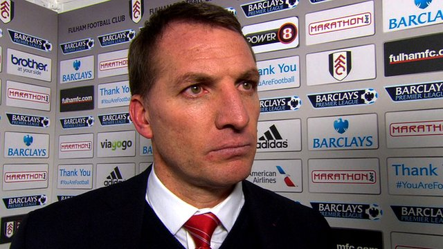 Brendan Rodgers hails Steven Gerrard's nerve following Liverpool's 3-2 win over Fulham