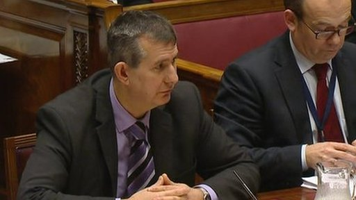 Edwin Poots at health committee