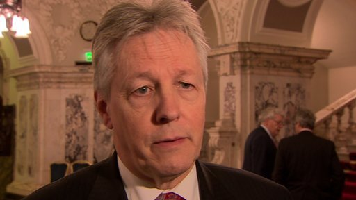 Peter Robinson has publicly backed health minister Edwin Poots