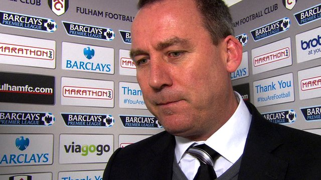 "Rene Meulensteen says Fulham's 3-2 loss to Liverpool is ""very hard to take"""