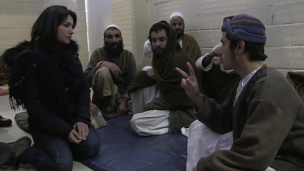 Yalda Hakim meets detainees in Bagram jail