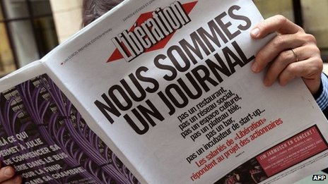 Liberation front page