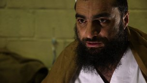 A prisoner who was released from the Bagram detention centre in Afghanistan