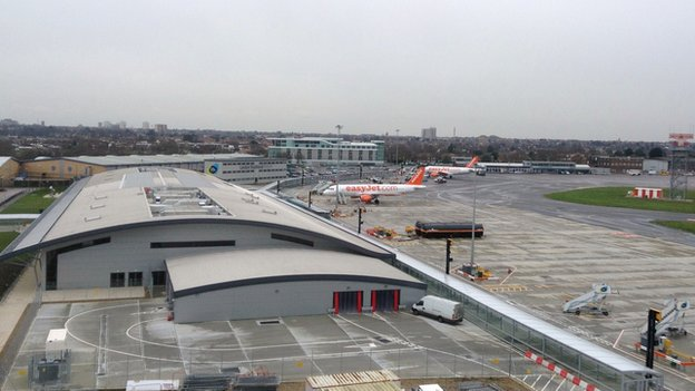 New extension to London Southend Airport