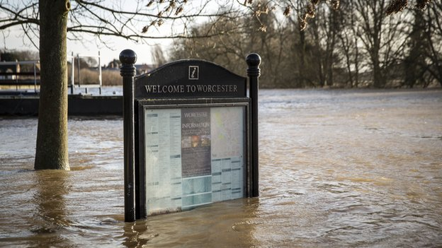 Towns like Worcester are suffering from flooding