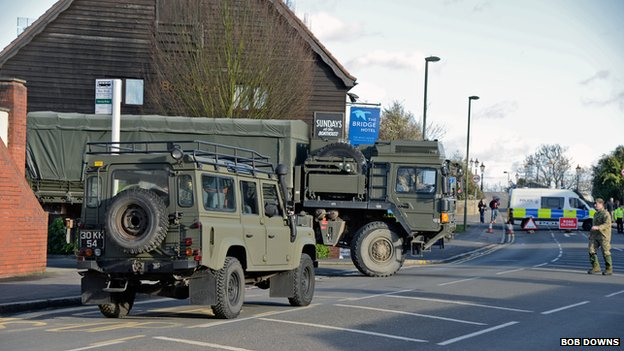 The Army in Chertsey