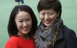 Mariko Oi and Haining Liu
