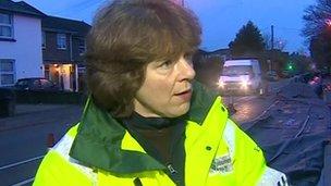 Environment Agency flood risk manager Alison Baptiste