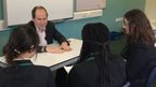 Students interview Rory Cellan-Jones