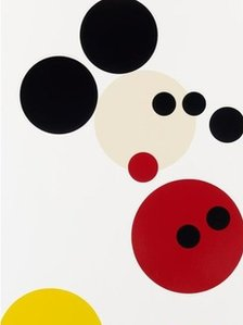 Mickey Mouse, by Damien Hirst (detail)