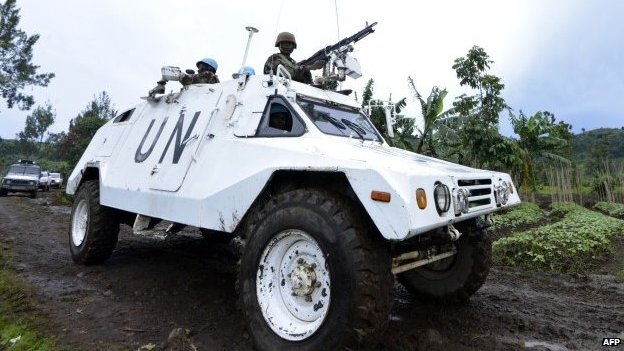UN vehicle in DR Congo (file photo)
