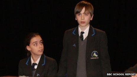 Carisbrooke College School Reporters